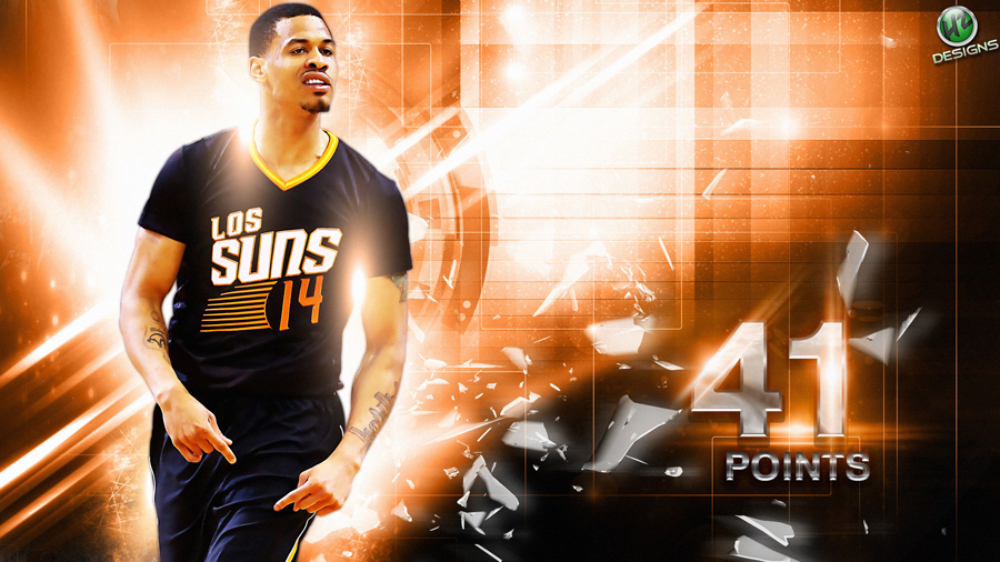 Gerald Green Suns 41 Points 2014 Wallpaper