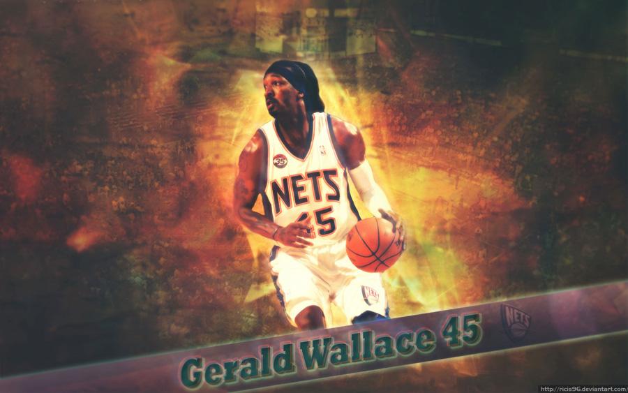 Gerald Wallace New Jersey Nets 1920x1200 Wallpaper