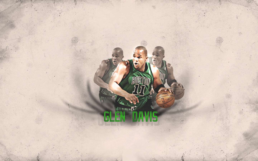 Glen Davis Celtics 2011 Widescreen Wallpaper