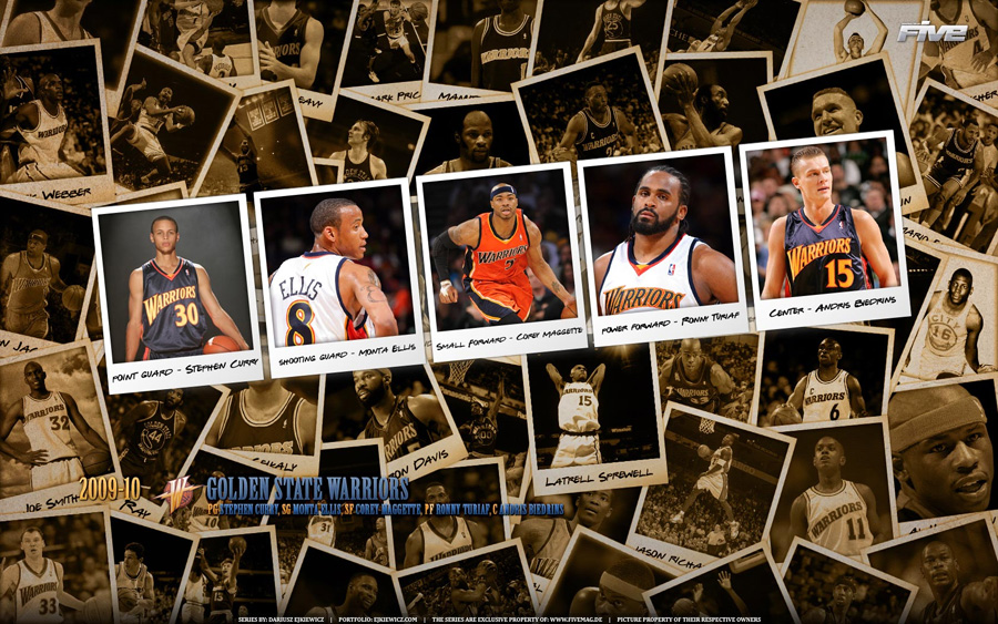 Golden State Warriors 2010 Widescreen Wallpaper