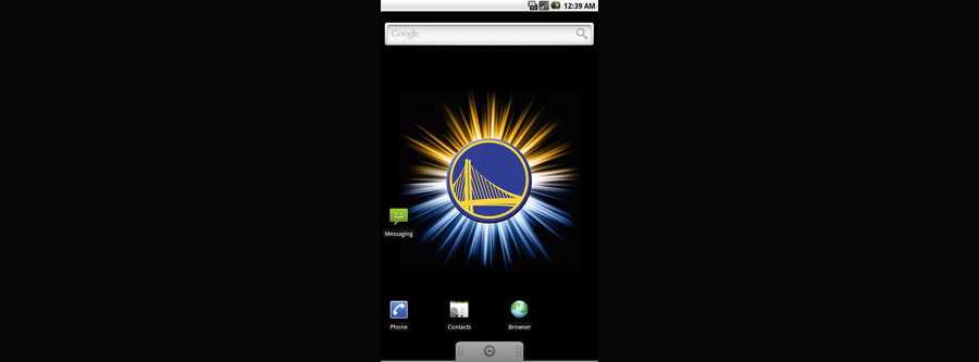 Golden State Warriors Logo Live Android Wallpaper