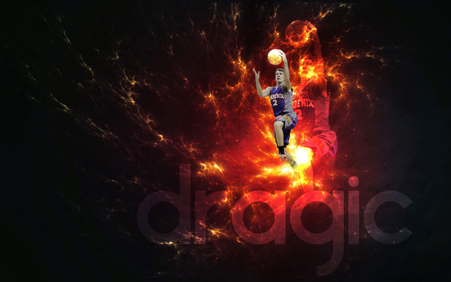 Goran Dragic Suns Widescreen Wallpaper