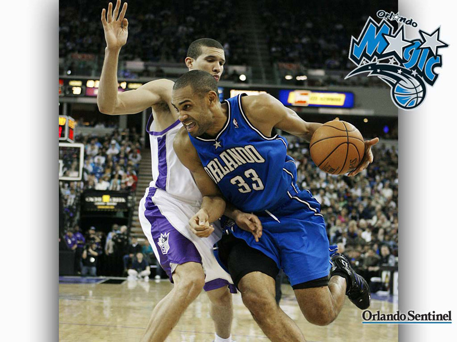 Grant Hill Orlando Magic Wallpaper