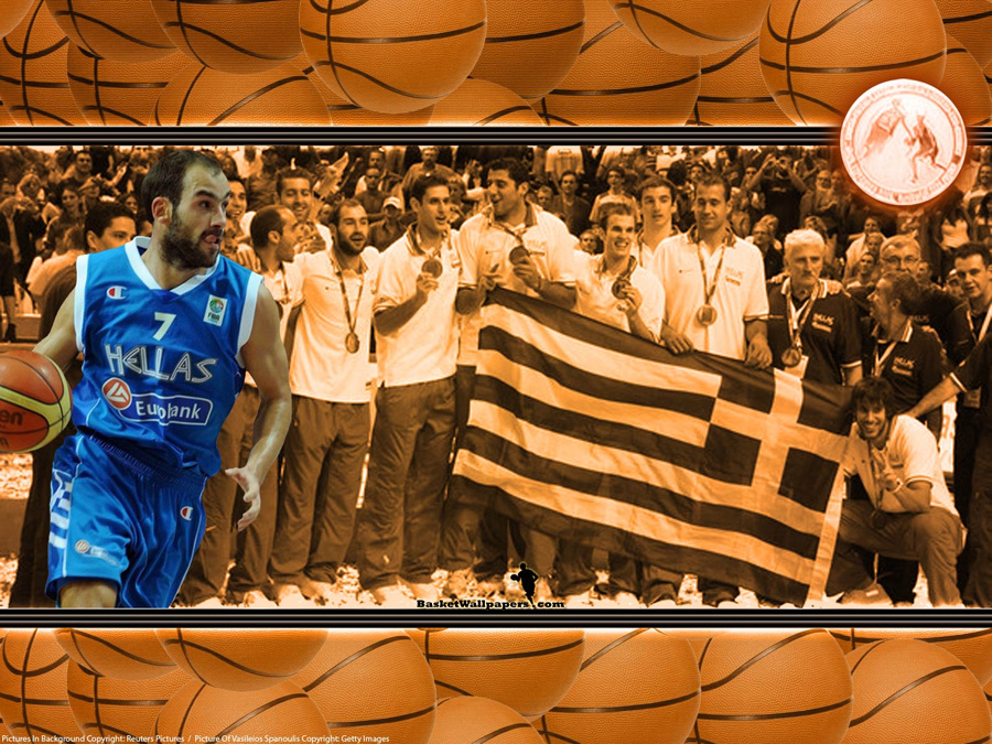 Greece Eurobasket 2009 Wallpaper