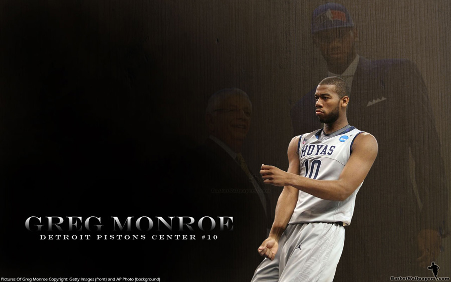 Greg Monroe Georgetown Hoyas Widescreen Wallpaper