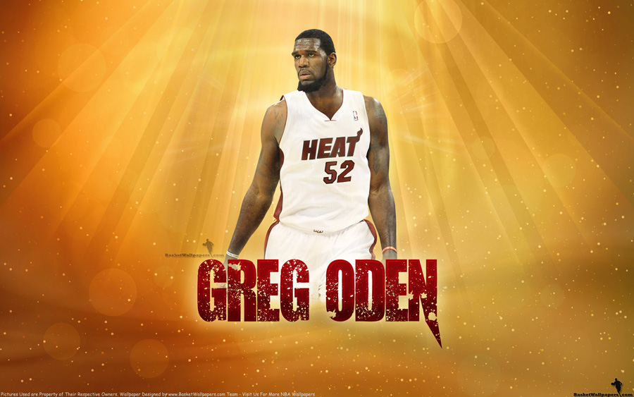 Greg Oden Miami Heat 2560x1600 Wallpaper