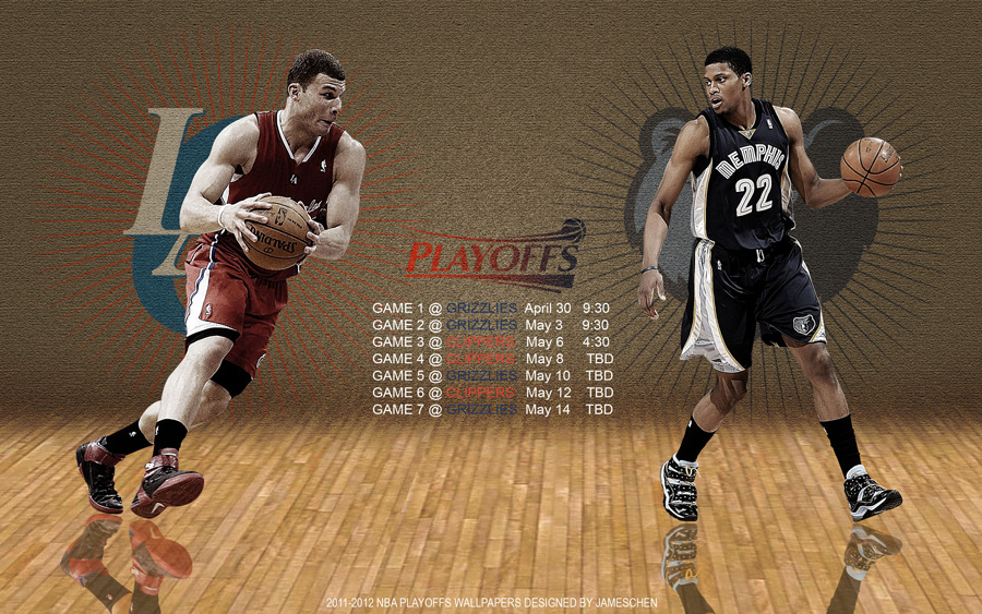 Grizzlies - Clippers 2012 NBA Playoffs 2560x1600 Wallpaper