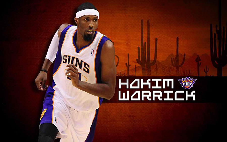 Hakim Warrick Suns Widescreen Wallpaper