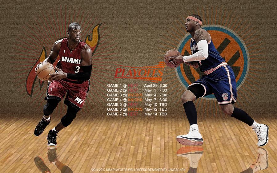 Heat - Knicks 2012 NBA Playoffs 2560x1600 Wallpaper Wallpaper