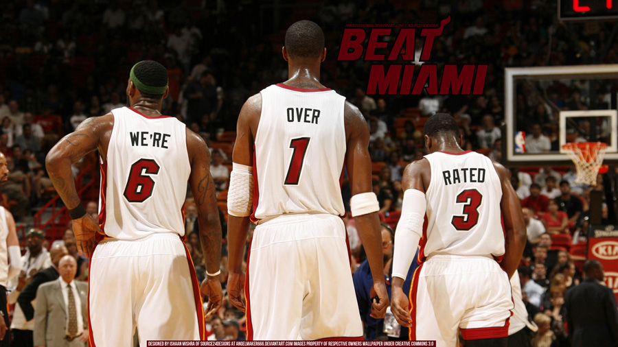 Heat Over Rated 2011 NBA Finals Widescreen Wallpaper