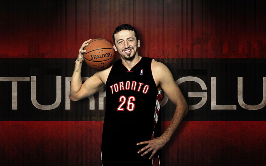 Hedo Turkoglu Raptors Widescreen Wallpaper