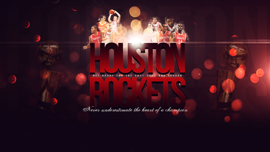 Houston Rockets 2011-12 Season Widescreen Wallpaper