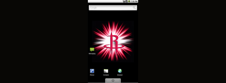 Houston Rockets Logo Live Android Wallpaper