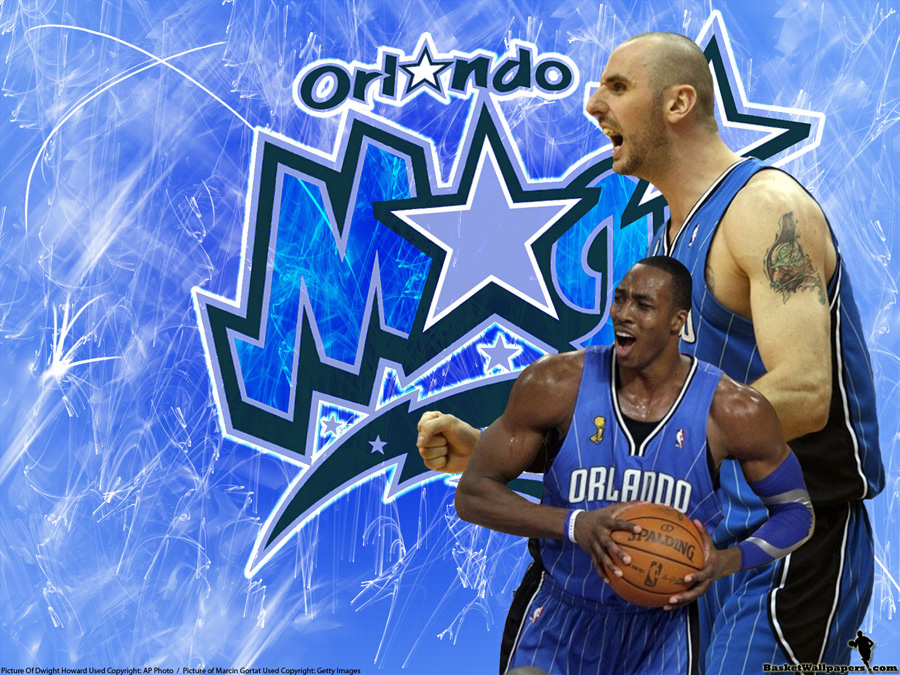 Dwight Howard and Marcin Gortat Orlando Magic Wallpaper