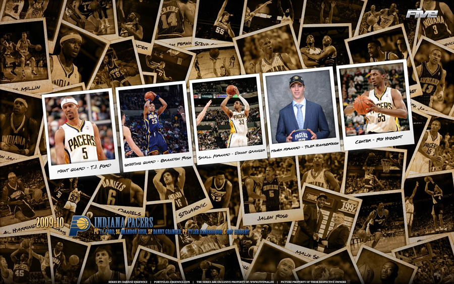 Indiana Pacers 2010 Widescreen Wallpaper