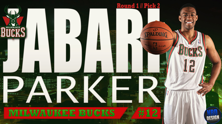 Jabari Parker 2014 Milwaukee Bucks Wallpaper