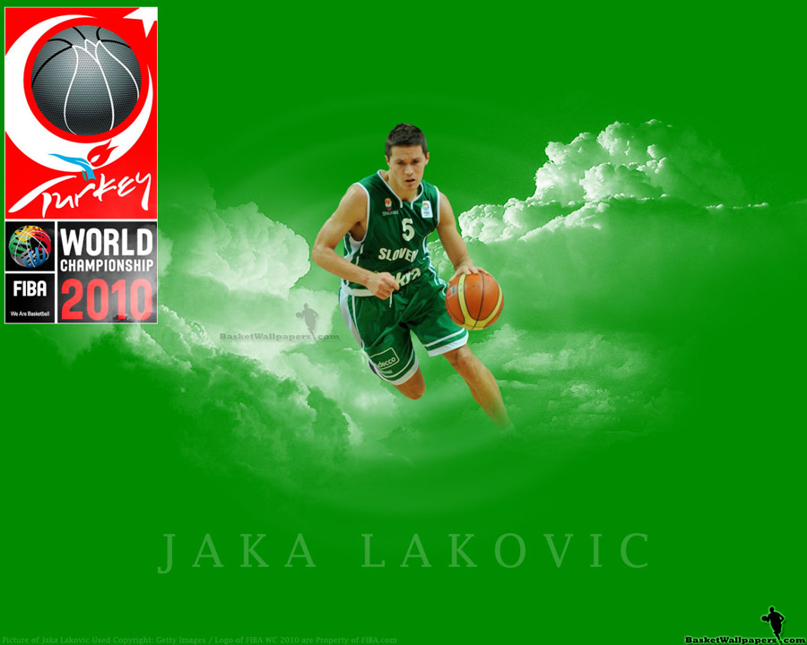 Jaka Lakovic FIBA World Championship 2010 Wallpaper