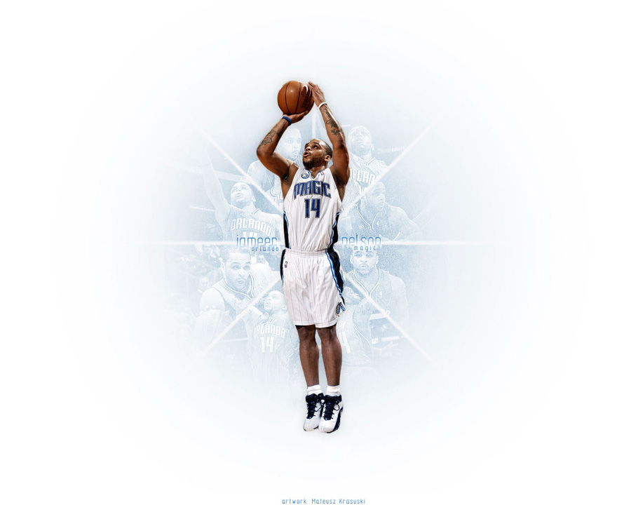 Jameer Nelson Orlando Magic Wallpaper