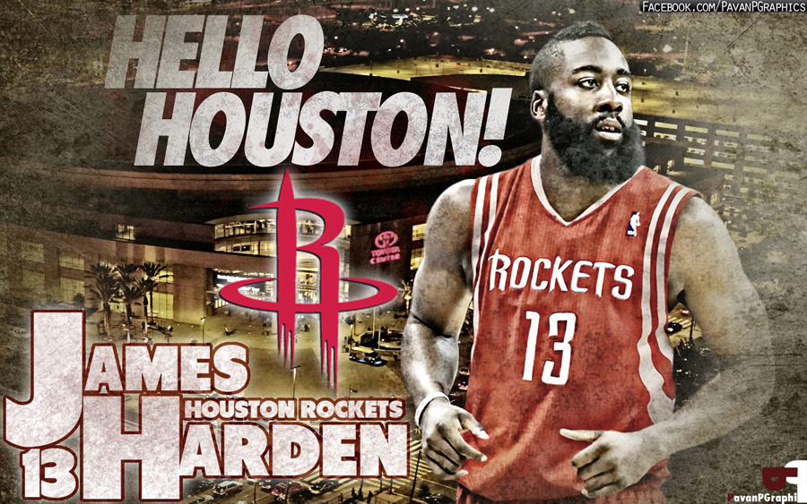 James Harden Rockets 1680x1050 Wallpaper