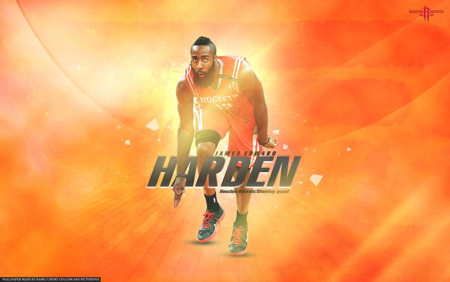 James Harden Rockets 2013 1680x1050 Wallpaper