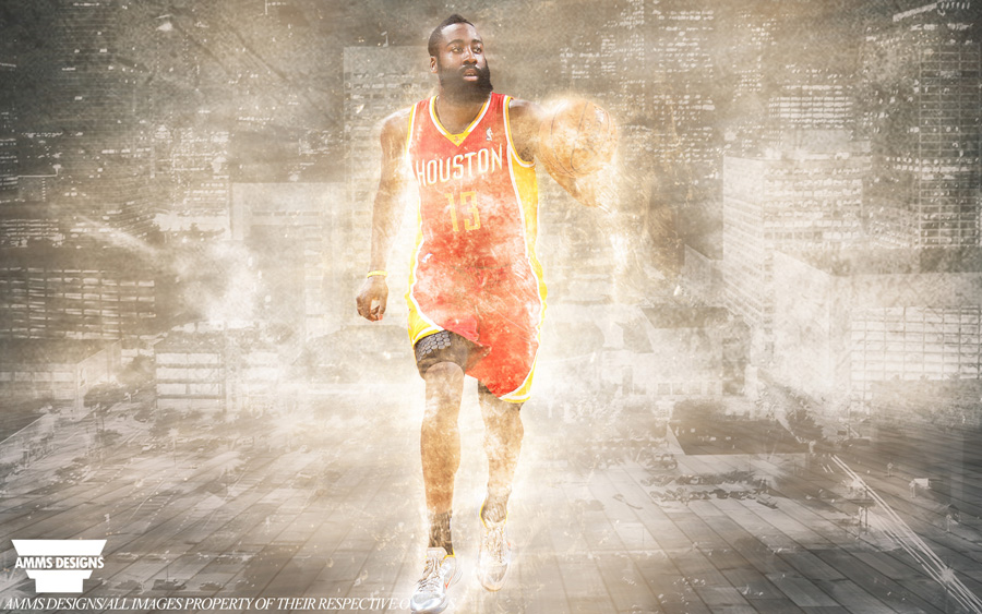 James Harden Rockets 2014 Wallpaper