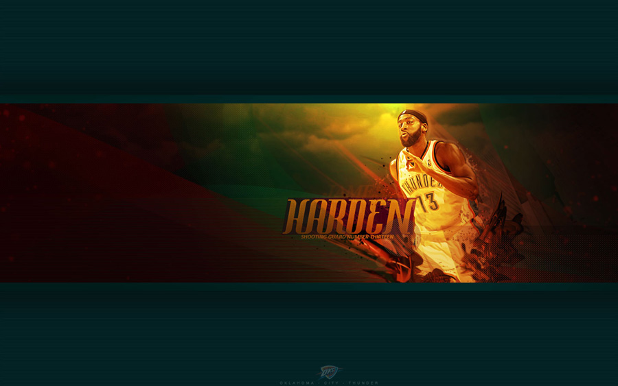 James Harden Thunder 1440x900 Wallpaper