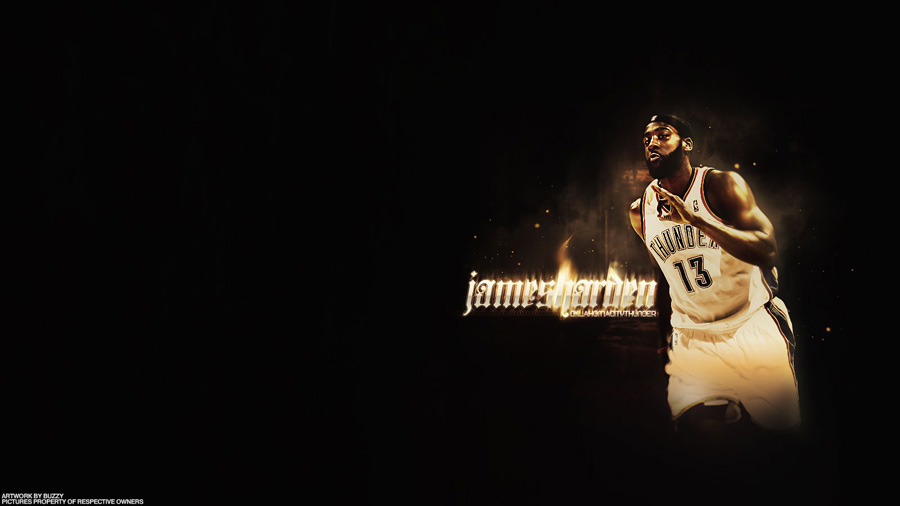 James Harden Thunder Widescreen Wallpaper