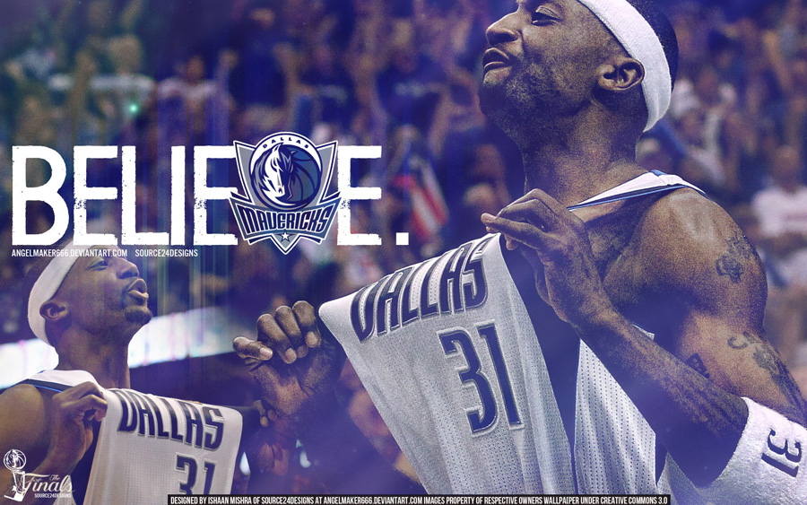Jason Terry 2011 NBA Finals Widescreen Wallpaper