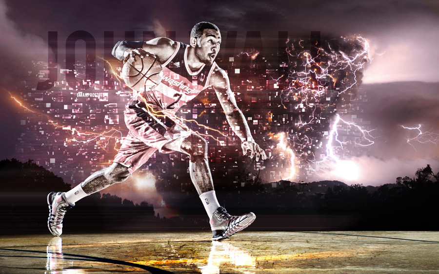 John Wall Wizards 2014 Wallpaper