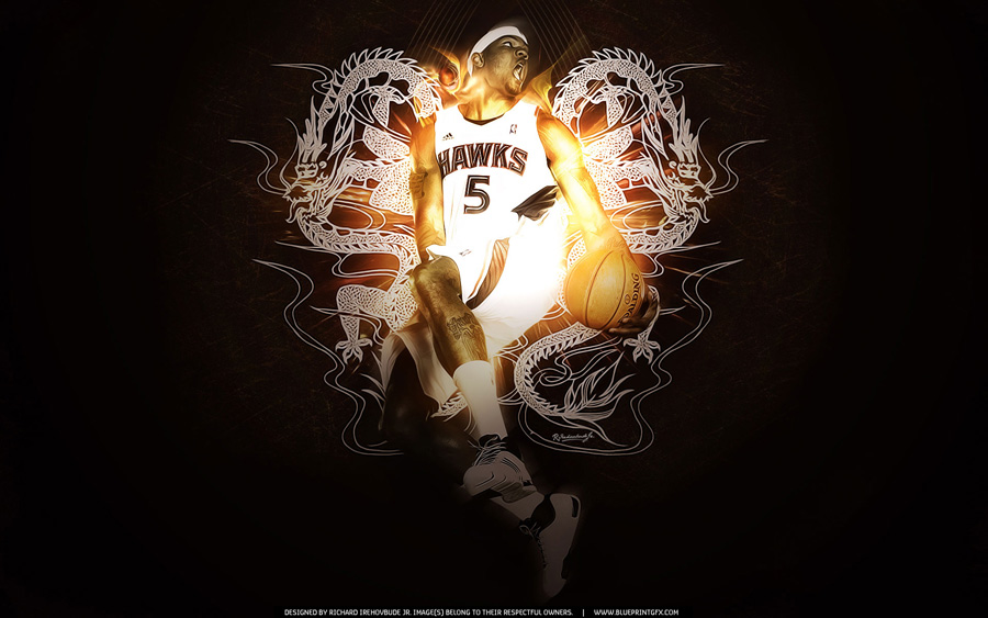 Josh Smith Reverse Dunk Wallpaper