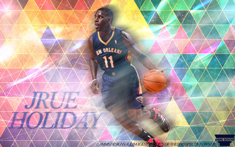 Jrue Holiday Pelicans 2014 Wallpaper