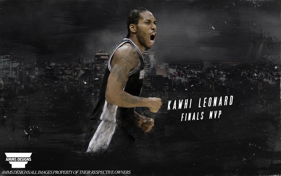 Kawhi Leonard 2014 NBA Finals MVP Wallpaper