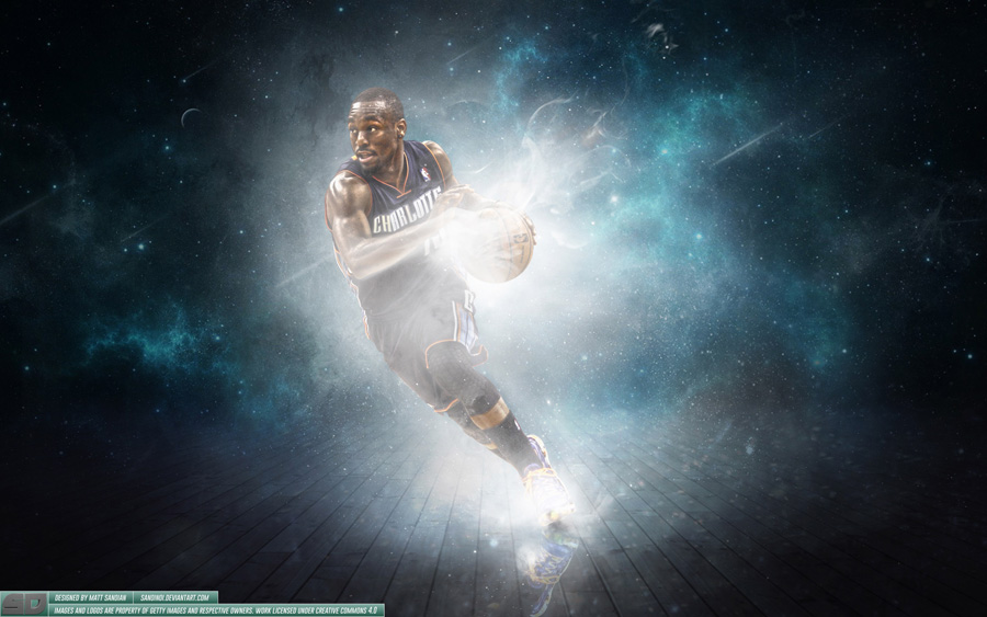Kemba Walker Charlotte Bobcats 2014 Wallpaper