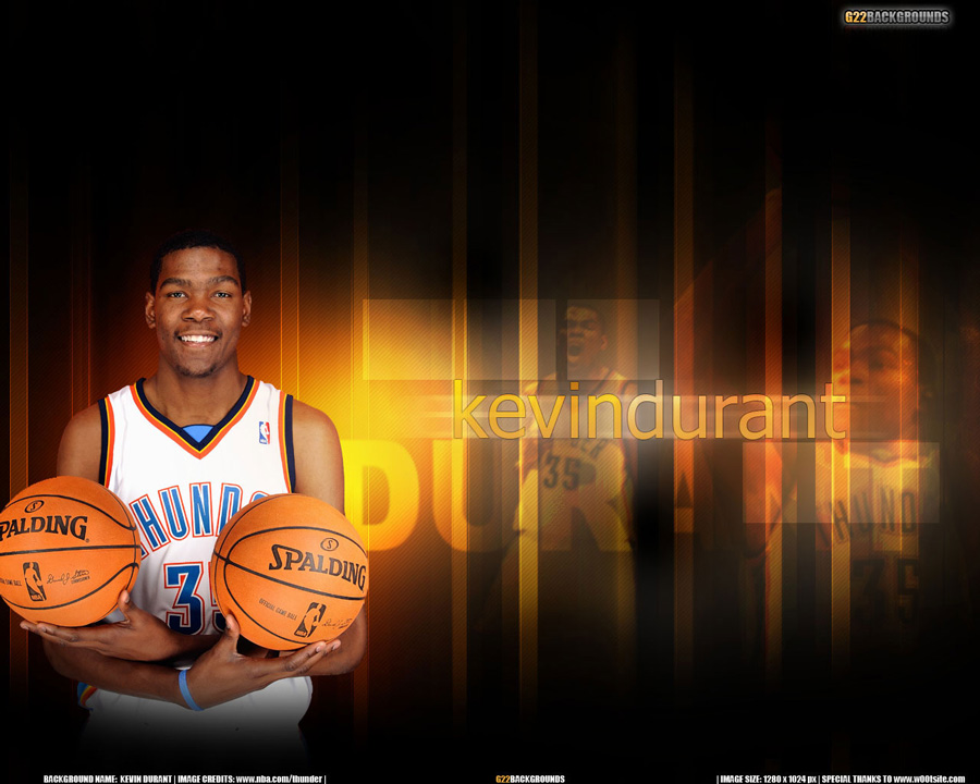 Kevin Durant 1280x1024 Wallpaper