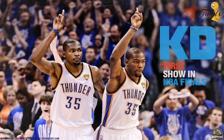 Kevin Durant 1st NBA Finals Appearance Wallpaper
