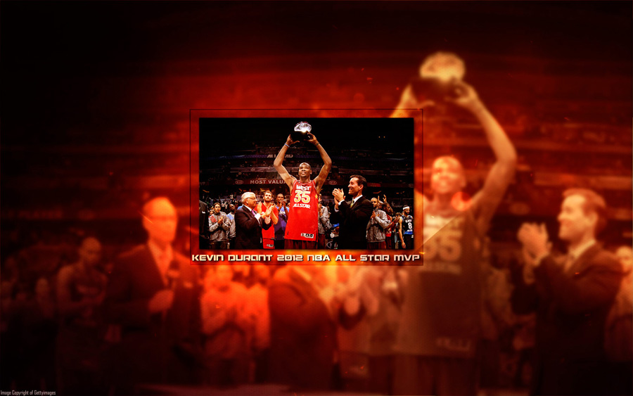 Kevin Durant 2012 NBA All-Star MVP 1680x1050 Wallpaper
