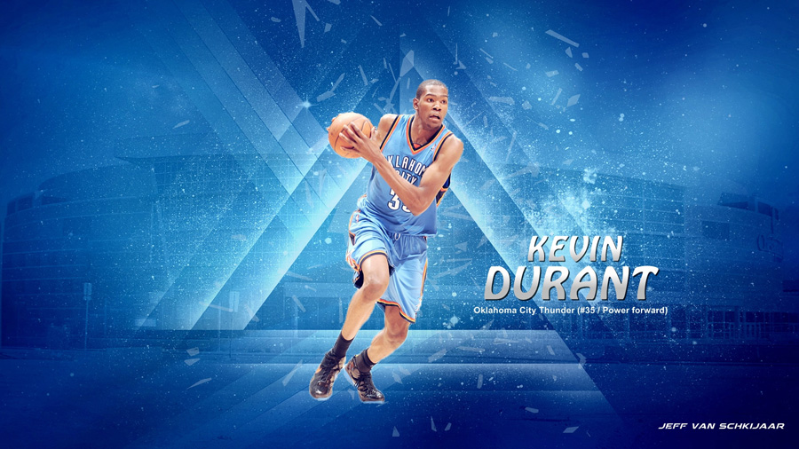 Kevin Durant OKC Thunder 2014 Wallpaper