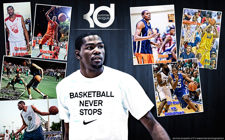 Kevin Durant Summer League 2011 Wallpaper