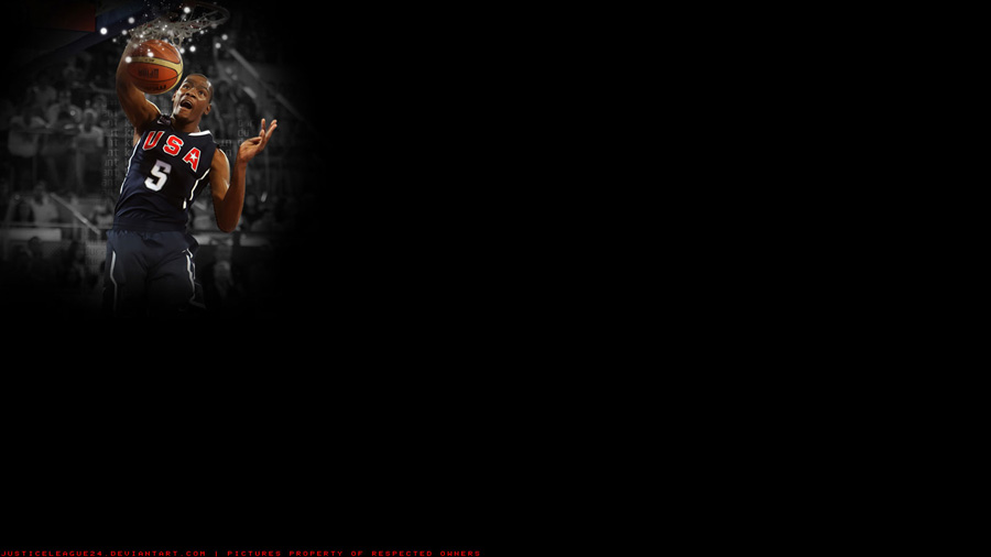 Kevin Durant Team USA Widescreen Wallpaper