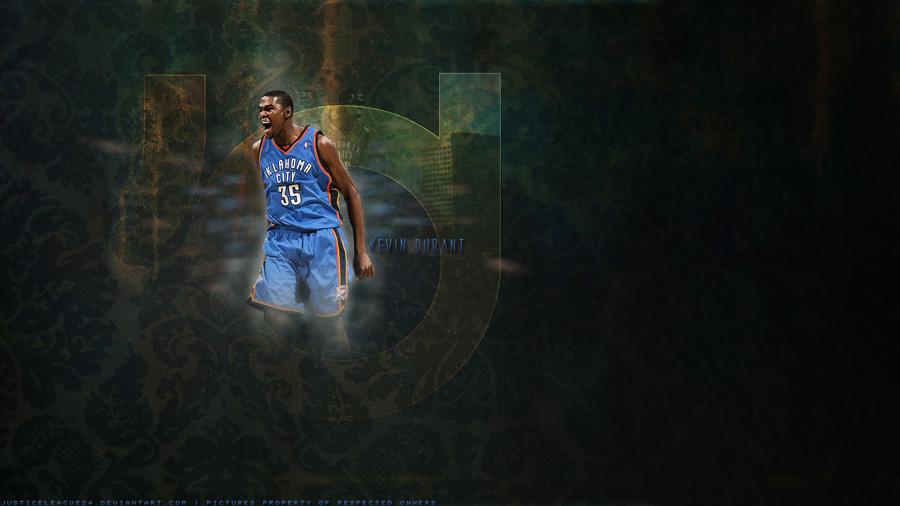 Kevin Durant Thunder 1600x900 Wallpaper