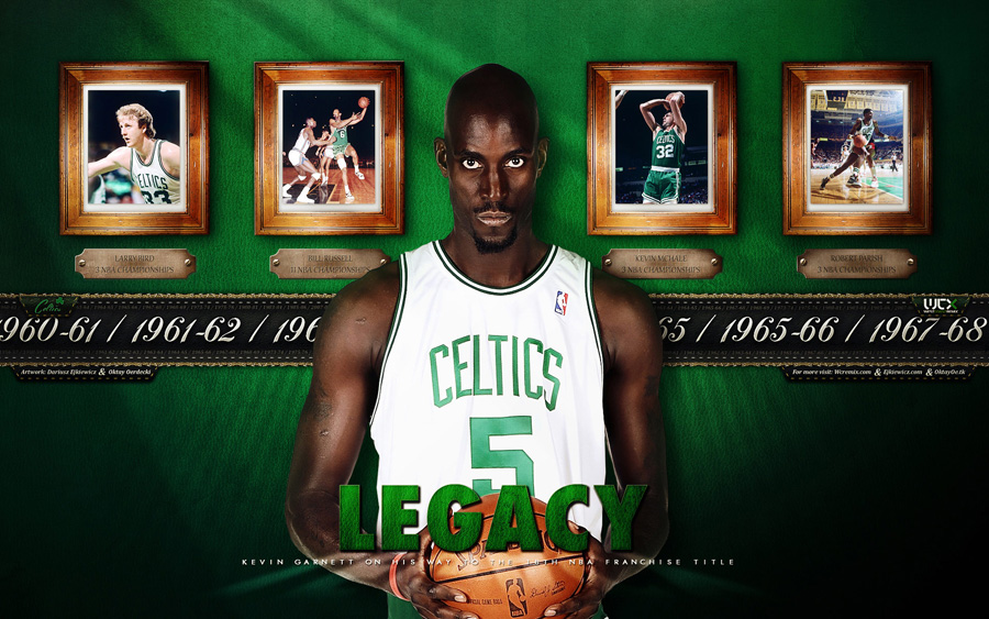 Kevin Garnett 2010 Widescreen Wallpaper