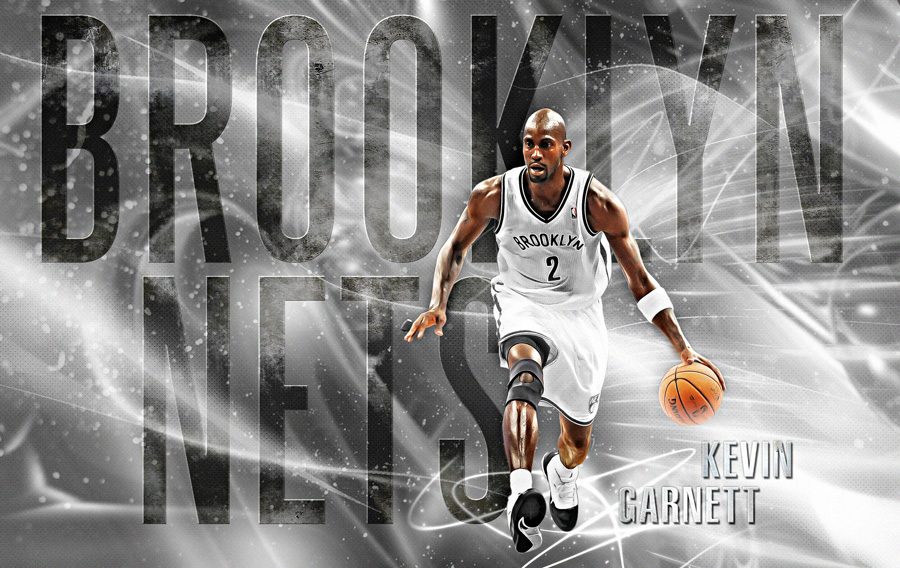 Kevin Garnett Brooklyn Nets 1920x1200 Wallpaper