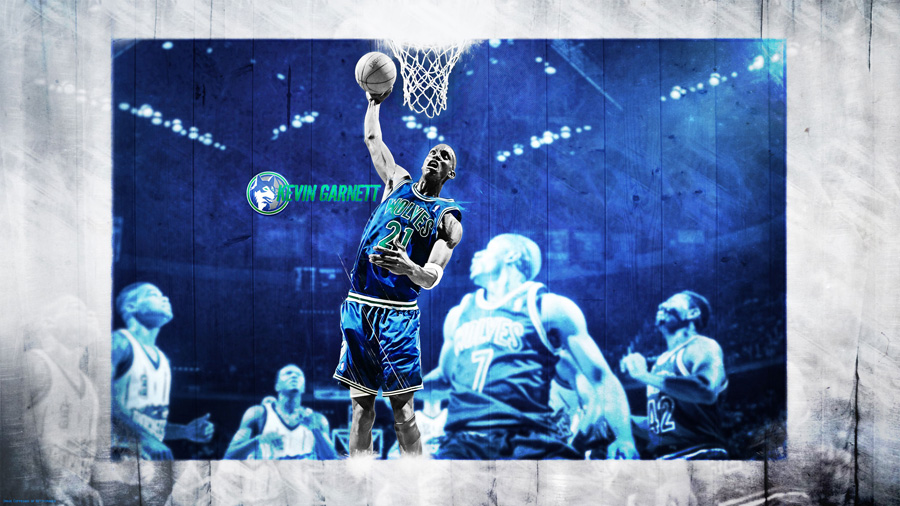 Kevin Garnett Timberwolves 2560x1440 Wallpaper