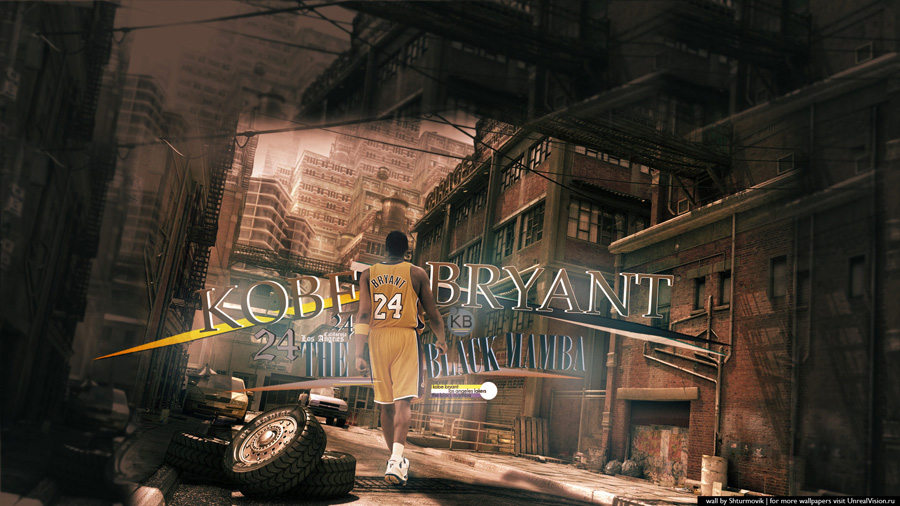 Kobe Bryant 1920x1080 Wallpaper