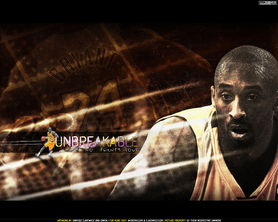 Kobe Bryant Lakers 24 Wallpaper