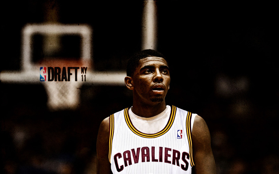 Kyrie Irving Cavs 2011 Draft Pick Widescreen Wallpaper