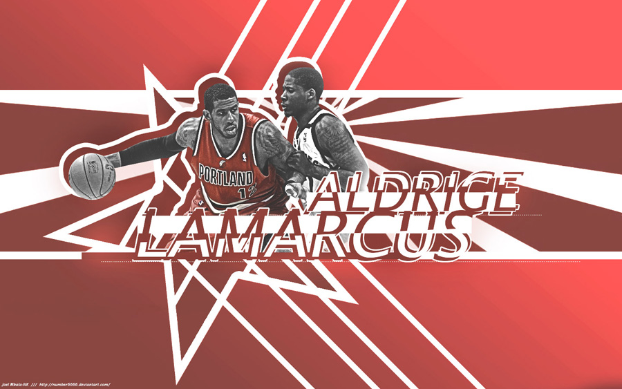 LaMarcus Aldridge Blazers 2013 1440x900 Wallpaper