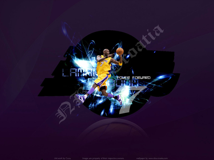 Los angeles lakers wallpapers basketball wallpapers at lamar odom lakers wallpaper voltagebd Gallery