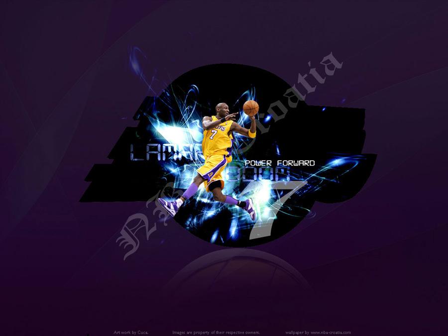 Lamar Odom Lakers Wallpaper