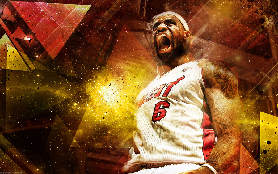 LeBron James 2013 1920x1200 Wallpaper